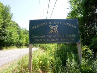 E. Durham sign
